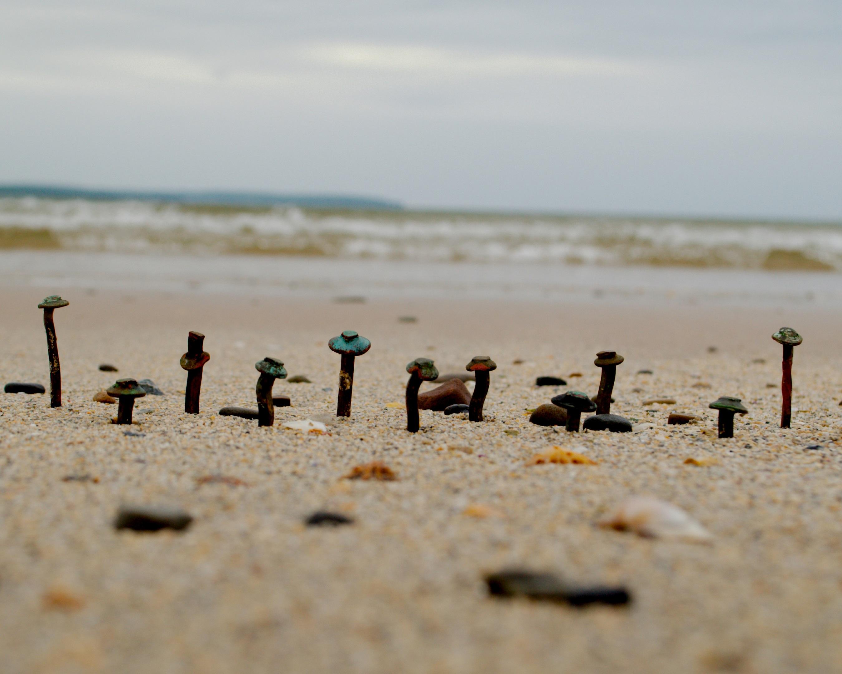 clinker-beach